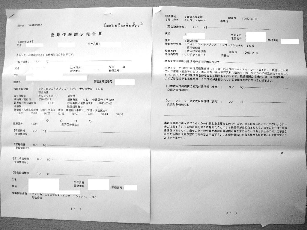KSC-AMEX開示情報